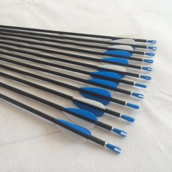 Paket Hemat Carbon Arrow High Quality Anak Panah Cocok Untuk Latihan Panahan Isi 6 Buah - 5