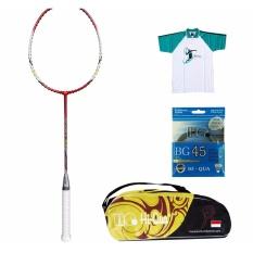 [PAKET] Hi-Qua Raket Bulutangkis / Badminton Accurate [B1G4]