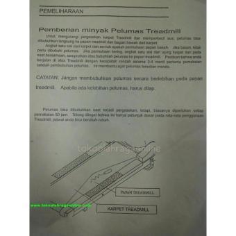Detail Gambar Produk PELUMAS TREADMILL Terlengkap