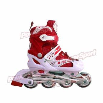 Power Sport Two Stripes 5000 Aosite Inline Skate Sepatu Roda 2 In 1 ... 4a2446ad86