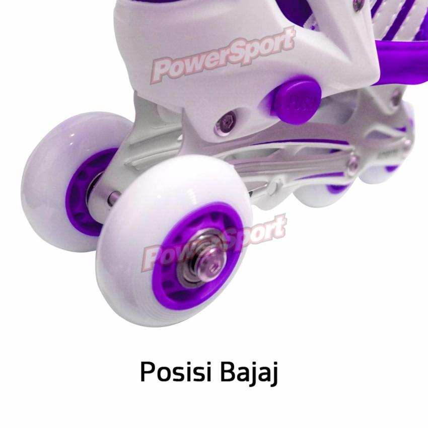 Adjustable Wheel L Source · Power Sport Two Stripes 5000 Aosite inLine Skate  . 4a68897db1