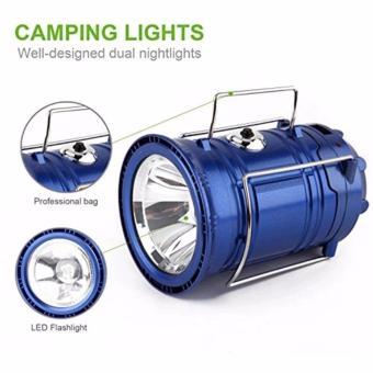 ... Prime Mini Lampu Lentera Senter Emergency LED Solar Rechargeable - Hitam - 4 ...