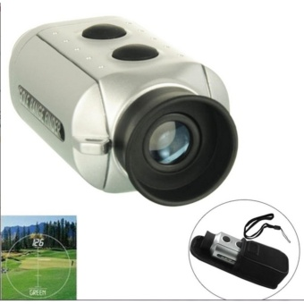 PROMOO...Digital 7x Golf Scope with Padded - Teropong Pengukur Jarak Bola Golf