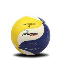 Proteam Bola Voli Smackball V-8000 Blue/Yellow/White