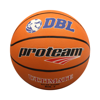 Jual Proteam Rubber Bola Basket Ultimate-orange Murah