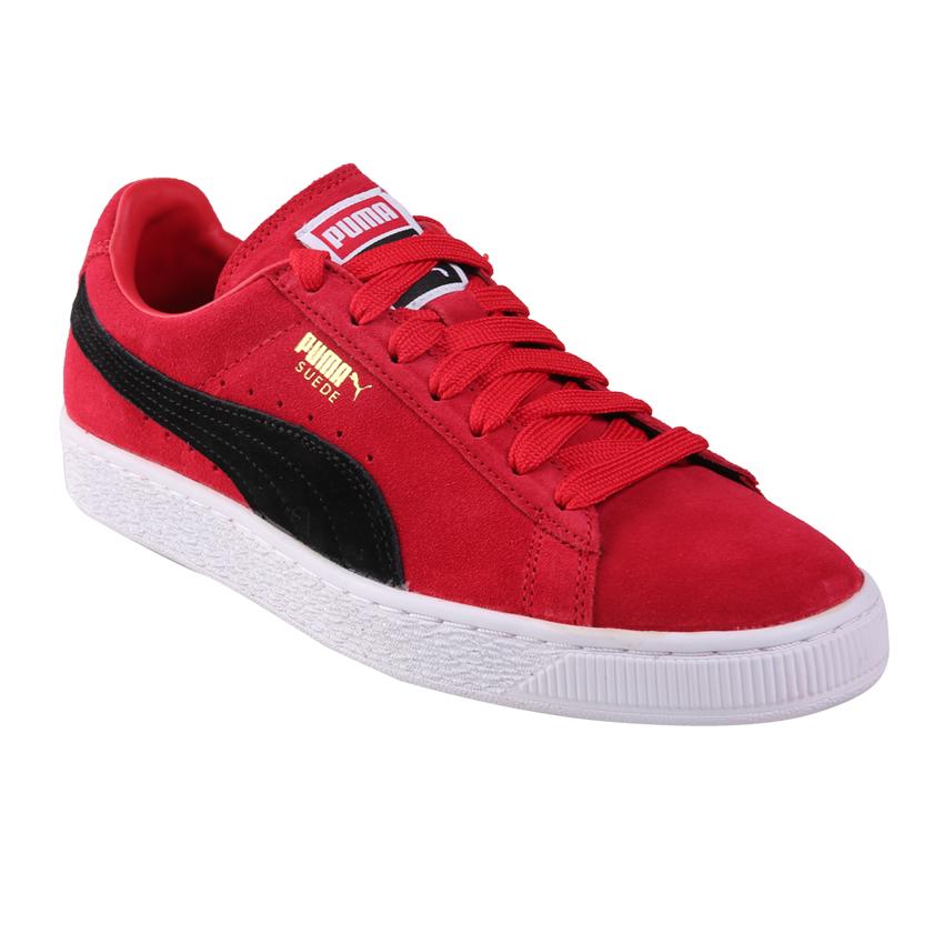 Puma Suede Classic+ Sepatu Sneakers Olahraga - Toreador-Puma Black . 5d2362c2b5