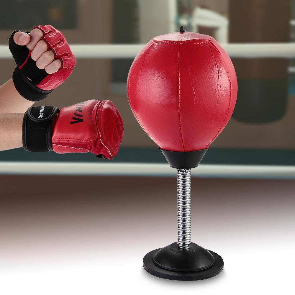 ... Punch Punching Bag Speed Ball Stand Boxing Training PractiseW/Pump-Kids Adult with Mini ...