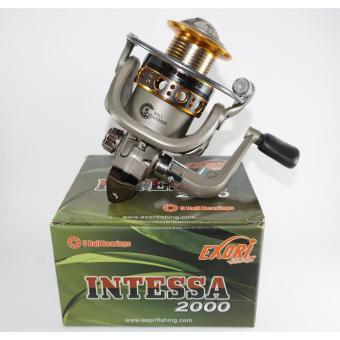 harga Reel Exori Intessa 2000 5 BB Ratio 5.1 Aluminium Spool Lazada.co.id