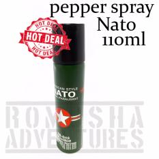 Romusha Pepper Spray NATO 110ml Gas Air Mata Semprotan Merica