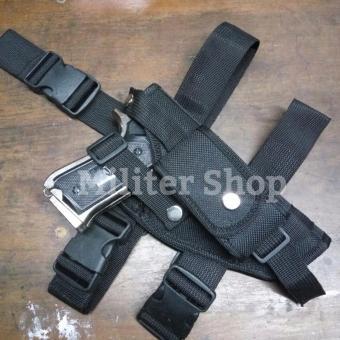 Sarung Pistol Paha - Holster Tactical Military Police - Sarung Pistol Pinggang Revolver - 2