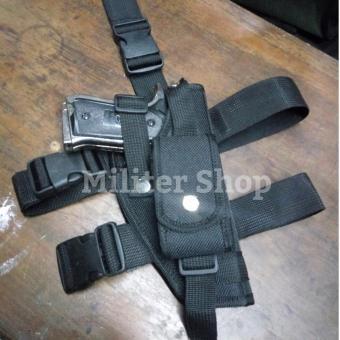 harga Sarung Pistol Paha - Holster Tactical Military Police - Sarung Pistol Pinggang Revolver Lazada.co.id