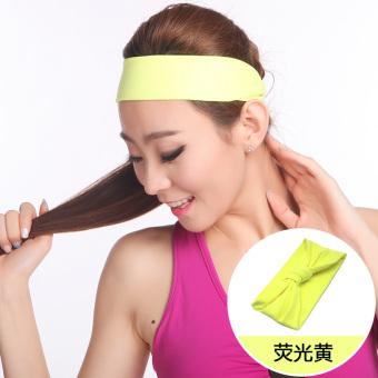 PENAWARAN Sha Luoer Produk Baru Berlari Kebugaran Yoga Pita Rambut Ikat Kepala TERLARIS