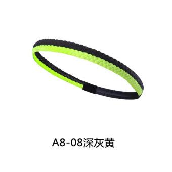 DISKON Silikon joging laki-laki antiperspirant band rambut olahraga headband TERPOPULER