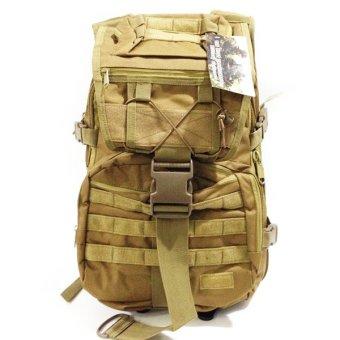 harga Silver Knight Tas Ransel Army BAG 9900 - Coklat Polos Lazada.co.id