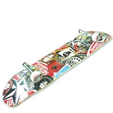 Silverfox Skateboard Canadian Maple 31X8 Sat.Skull LY-3108AE-3LM-6