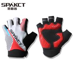Spakct tahun cahaya pria dan wanita sepeda gunung sepeda sarung tangan jari pendek sarung tangan