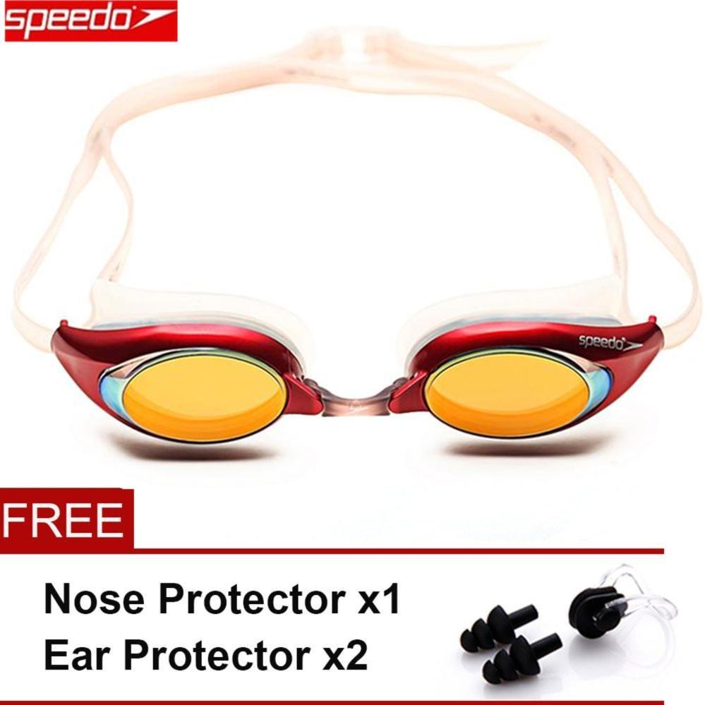 ... Kacamata Renang Anti Fog Swimming Goggles Pink Online. Source ... Speedo Merit Goggle Mirror - intl .