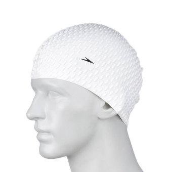 PENAWARAN Speedo nyaman dan wanita dengan rambut panjang renang besar topi silikon berenang topi renang topi TERBAIK
