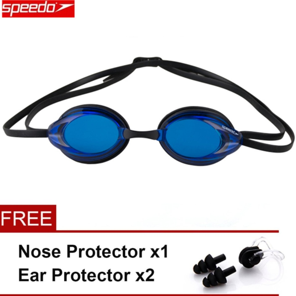 ... Speedo Swimming Goggles Waterproof Anti Fog Anti UV HD Lens SoftFramework Swim Glasses - intl ...