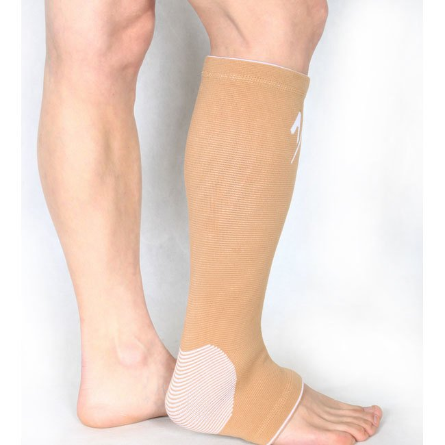 Sport Rehabilitation Warm Ankle Support / Pelindung Kaki - Brown