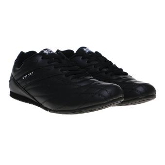 Spotec Corner Lace Sepatu Taekwondo - Hitam/Abu Tua - 5