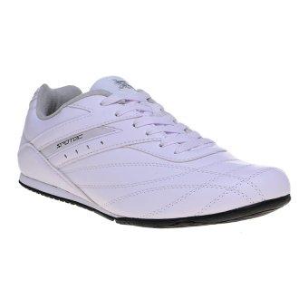 Spotec Corner Lace Sepatu Taekwondo - PutihPerak
