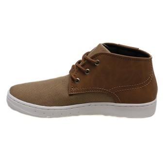 Spotec Dipo Sepatu Sneakers - Light Brown-Off White