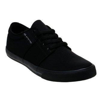 Spotec Edward Sepatu Sneakers - Hitam