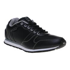 Spotec Hilton Sepatu Lari - Black/White