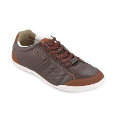 Spotec Magic Sepatu Sneakers Pria - Dark Brown/Brown