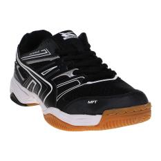Spotec Sergio Sepatu Badminton - Hitam-Putih