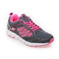 Spotec SPC 2.5 Sepatu Lari Wanita - Dark Grey-Hot Pink