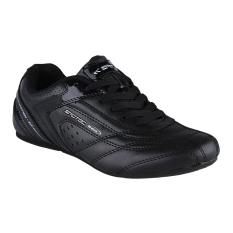 Spotec Victor Lace Sepatu Olahraga - Hitam/Hitam