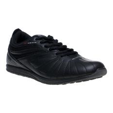 Spotec Zeus Sepatu Sneakers - Hitam-Abu-Abu Tua