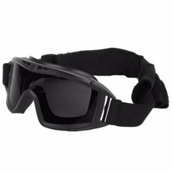 Harga Spy google 3 lensa (kacamata motocross airsoftgun helm motor sport)  Ori 297e4de10e