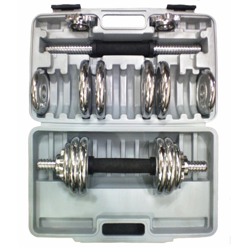 Pelacakan Harga Stamina Dumbell Set Chrome With Box 15 Kg Barbel 6 Staminachrome 15kg