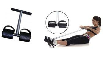 Super Tummy trimmer Alat Olahraga Pengecil Perut + Free Ikat Rambut Polkadope - 1 Pcs