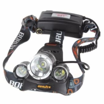 T6 High Power Headlamp Cree XM-L T6 5000 Lumens / Senter / Lampu Kepala Boruit - 2