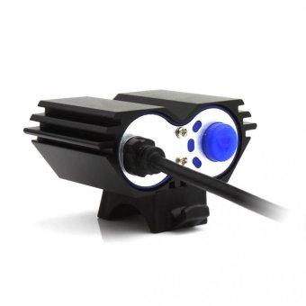 ... tahan air 5000 LM X 2 CREE XM - L T6 dipimpin Sepeda USB Head Lamp ...