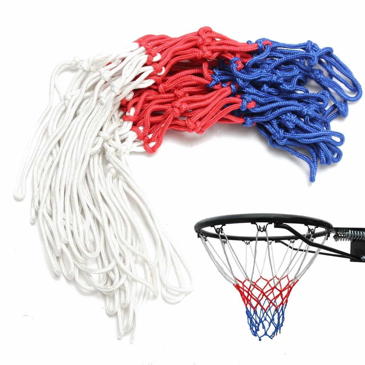 Tahan Lama Dalam Ruangan Olahraga Luar Ruangan Penggantian Ring Basket Nilon Jaring Gawang .