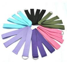 Tali Yoga Strap Belt D Ring Pink