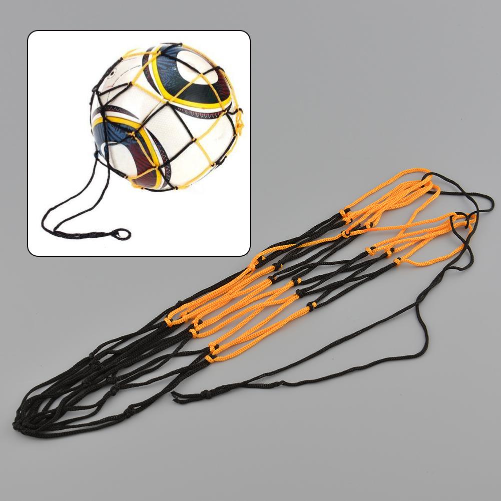 ... Tas Jaring Nilon Jala Basket Membawa Bola Sepak Bola Hitam & Kuning Berguna ...