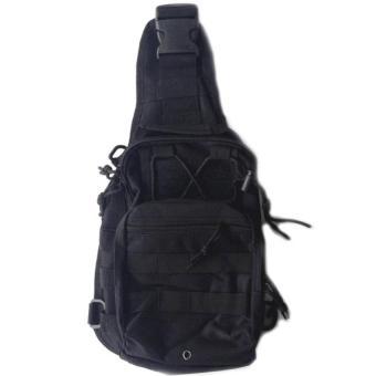 Harga Tas Selempang Outdoor Military Tactical Duffel Backpack (OEM) -Black Murah