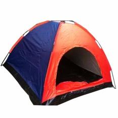 Tenda Camping 4 Orang 200Cm X 200Cm Random
