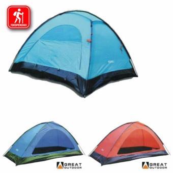 Harga Terendah Tenda Dome Great Outdoor Monodome Pro 2 - 3 Orang Perbandingan harga