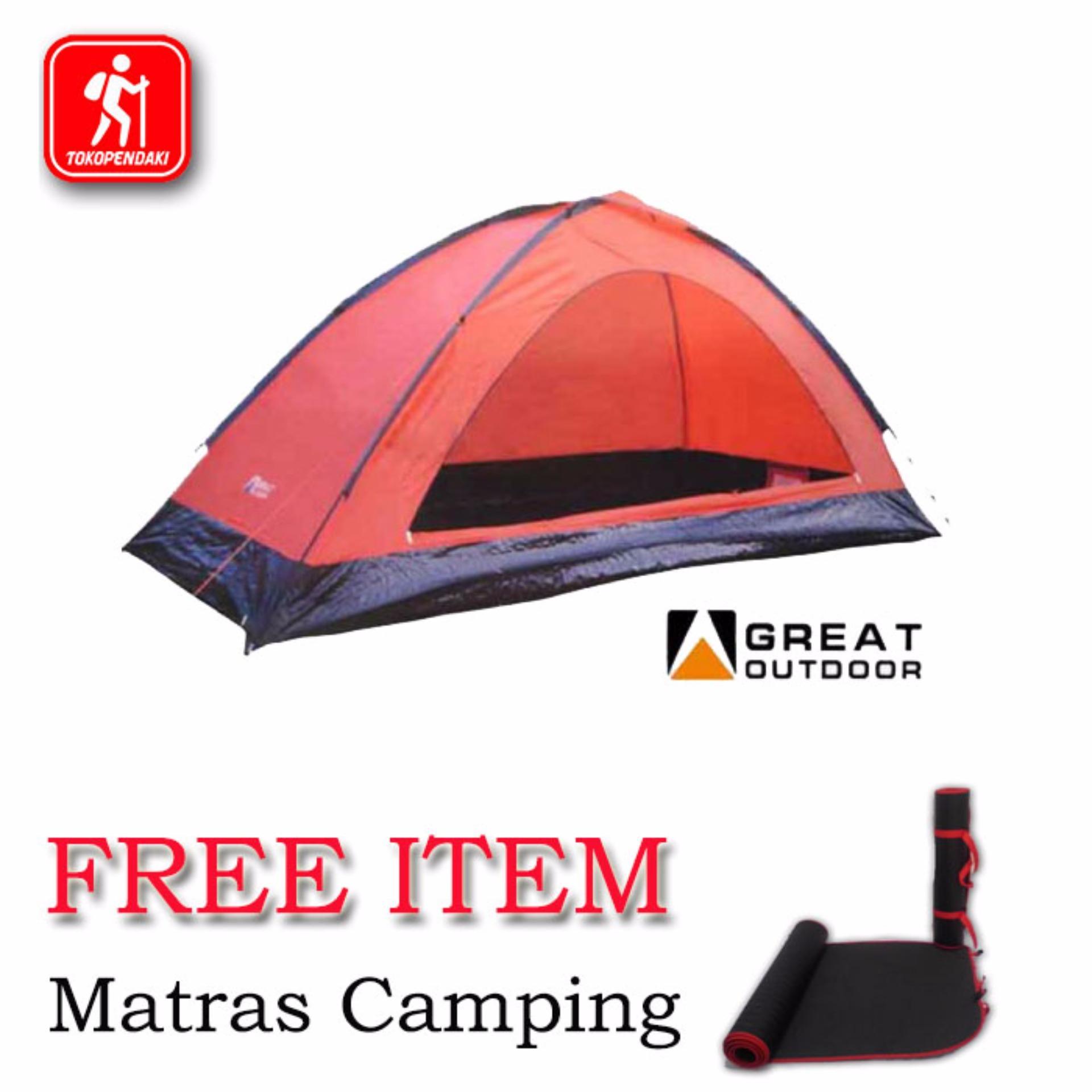 Tenda Great Outdoor Monodome Pro 2 - 3 Orang .