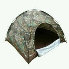 Tenda Loreng Dome/ Tenda Army Jy50 Kapasitas 4 Orang