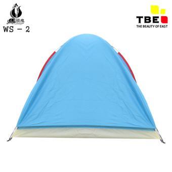 Harga Tenda WS002 Camping Hiking Dewasa Double Layer Kapasitas 3 4Orang Terbaru klik gambar.