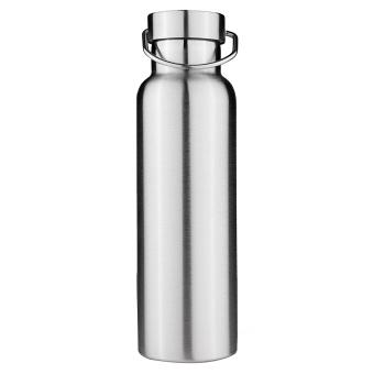 Termos Stainless Steel dinding ganda terisolasi topi bambu air botol 650 ml - International