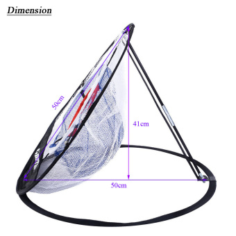 TOMSHOO Portable 20 inch Golf Training Chipping Net Hitting Aid Practice Indoor Outdoor Bag - intl - 5